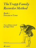 The Trapp Family Recorder   Volume 1