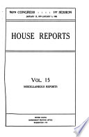House Reports