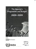 The Agency s Programme and Budget for Book
