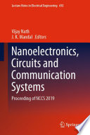 Nanoelectronics  Circuits and Communication Systems Book