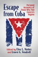 Escape from Cuba Pdf/ePub eBook