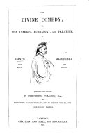 The Divine Comedy     Rendered Into English by Frederick Pollock   In Prose   With Fifty Illustrations Drawn by George Scharf  Jun  Engraved by Dalziel