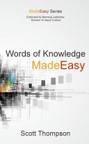 Words of Knowledge Made Easy