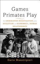Games Primates Play [Pdf/ePub] eBook