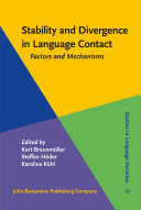Stability and Divergence in Language Contact [Pdf/ePub] eBook