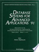 Database Systems For Advanced Applications  91   Proceedings Of The 2nd International Symposium On Database Systems For Advanced Applications