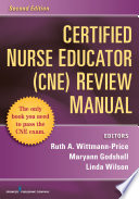 Certified Nurse Educator Cne Review Manual Second Edition