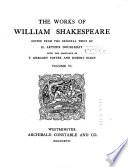 The Works of William Shakespeare  King Richard III  King John  King Richard II