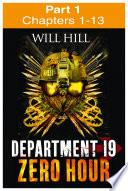 Zero Hour Part 1 Of 4 Department 19 Book 4