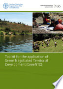Toolkit for the Application of Green Negotiated Territorial Development