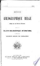 Revue bibliographique belge Pdf/ePub eBook