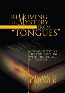 Pdf Removing the Mystery from Tongues