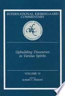 Upbuilding Discourses in Various Spirits