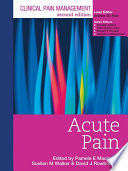Clinical Pain Management Second Edition  Acute Pain Book