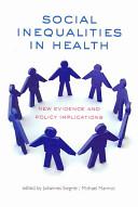 Social Inequalities in Health