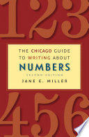 The Chicago Guide To Writing About Numbers Second Edition