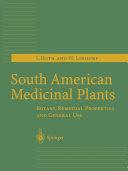 South American Medicinal Plants [Pdf/ePub] eBook