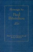 Homage to Paul Bénichou
