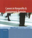 Careers in nonprofits & government agencies