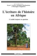 Pdf L'écriture de l'histoire en Afrique Telecharger