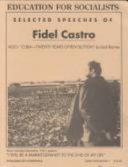 Selected Speeches of Fidel Castro