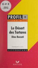 Pdf Le désert des Tartares, Dino Buzzati Telecharger