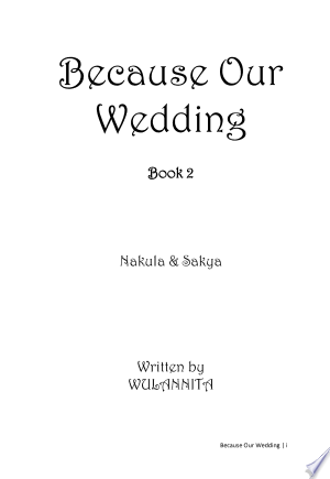 Download Because our wedding book 2 Free Books - EBOOK