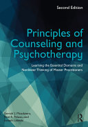 Principles of Counseling and Psychotherapy Pdf/ePub eBook