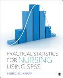 Practical Statistics for Nursing Using SPSS