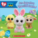 An Egg Stra Special Easter  Beanie Boos  Storybook with egg stands