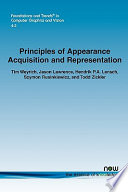 Principles of Appearance Acquisition and Representation