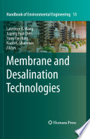 book cover:  	Membrane and desalination technologies