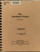 The Deschutes Project