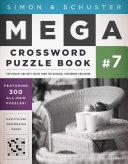 Simon   Schuster Mega Crossword Puzzle Book  7