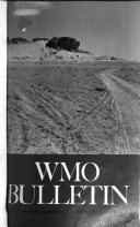 Wmo Bulletin Book PDF