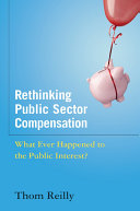 Rethinking Public Sector Compensation