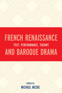 French Renaissance and Baroque Drama