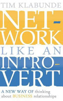 Network Like An Introvert Book PDF