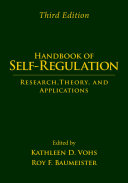 Handbook Of Self Regulation Third Edition