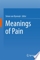 Meanings of Pain Book