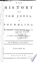 The History Of Tom Jones A Foundling Book PDF