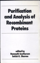 Purification and Analysis of Recombinant Proteins