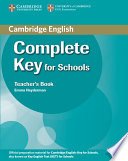 Complete Key For Schools Teacher S Book Book PDF