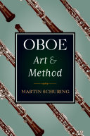 Pdf Oboe Art and Method Telecharger