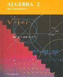 Algebra 2 and Trigonometry Book
