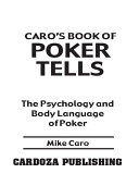 Caro's Book of Poker Tells [Pdf/ePub] eBook