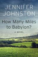 How Many Miles to Babylon? Pdf/ePub eBook