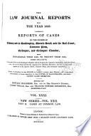 Comprising Reports of Cases in the Courts of Chancery  King s Bench  and Common Pleas  from 1822 to 1835