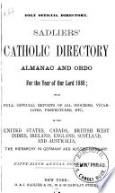 Sadliers' Catholic Directory, Almanac and Clergy List Quarterly