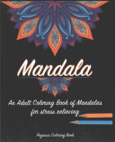 Mandala Adult Coloring Books